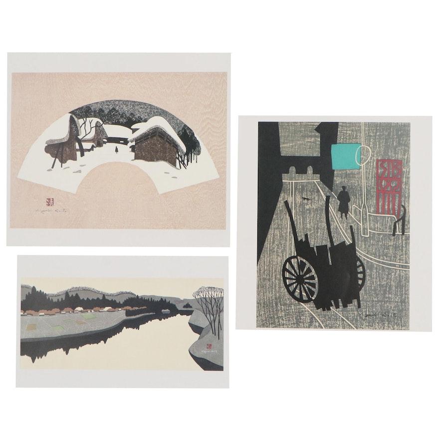 Offset Lithographs After Kiyoshi Saito, 21st Century