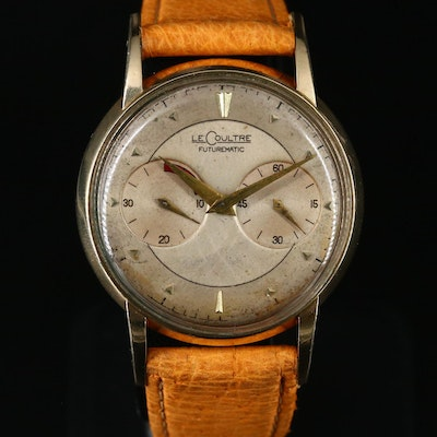 1952 LeCoultre Futurematic 10K Gold Filled Automatic Wristwatch