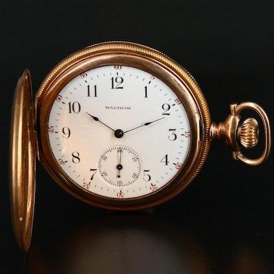 1901 Waltham Hunting Case Pocket Watch