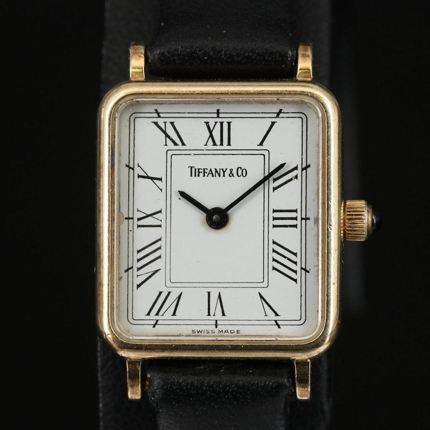 14Karat Tiffany & Co. Quartz Wristwatch