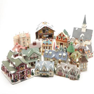 Lenox and St. Nicholas Square Light-Up Christmas Village