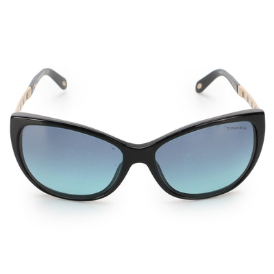 Tiffany & Co. TF 4094-B Sunglasses with Gradient Lenses and Case