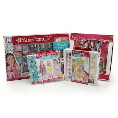 American Girl Crafting Kit, Frame-A-Name, Watercolor Set, Fashion Sketch Set