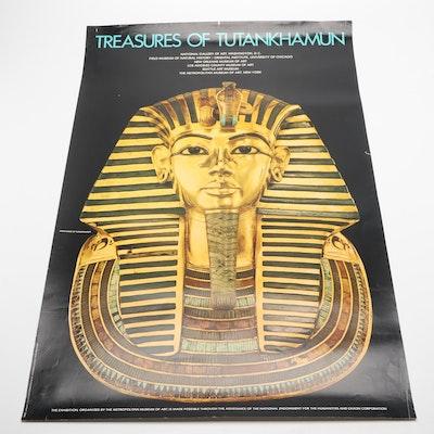 "Offset Lithograph ""Treasures of Tutankhamun"""