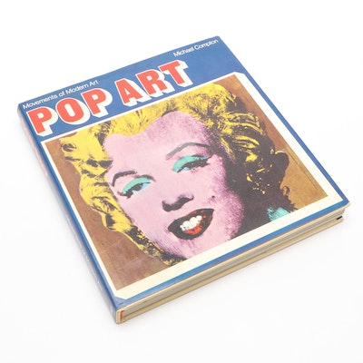 """Illustrated """"Pop Art"""" by Michael Compton, 1970"""