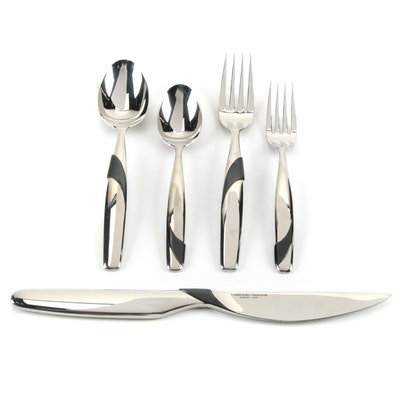 """Yamazaki """"Summer Wind"""" Stainless Steel Place Settings for Eight"""