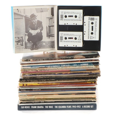 Frank Sinatra, Perry Como, Tony Bennett, Other Vinyl LP Records