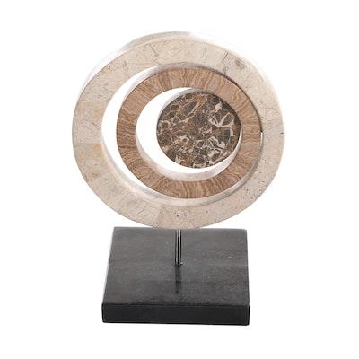 Minimalist Abstract Stone Sculpture