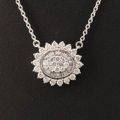 14K 1.27 CTW Diamond Necklace