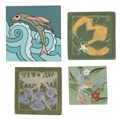 Terracroft and Other Hand-Painted Tiles, 21st Century