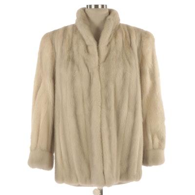 Emba Azurene Mink Fur Jacket from The Liberty Shop