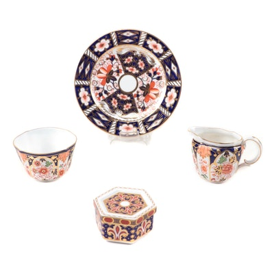 """Royal Crown Derby """"Traditional Imari"""" and Other Imari Style Bone China Pieces"""
