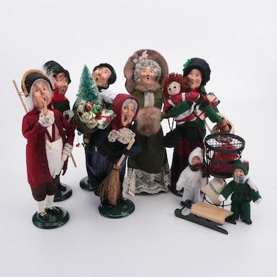 "Byers' Choice ""The Carolers"" Holiday Figurine Set"