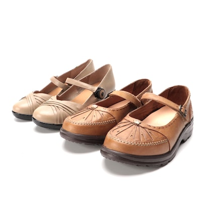 Dr. Comfort Cindee and Paradise Orthopedic Mary Jane Style Shoes