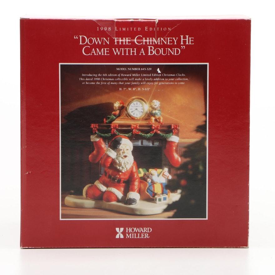 Howard Miller Limited Edition Christmas Clock, 1998