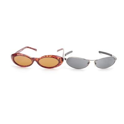 Geoffrey Beene and Killer Loop Sunglasses