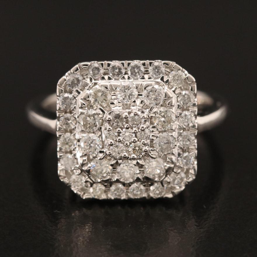 14K 1.01 CTW Diamond Ring