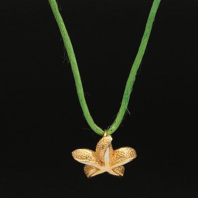 Dotty Smith Starfish Pendant Necklace