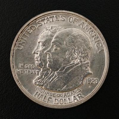 1923 Monroe Doctrine Commemorative Silver Half Dollar