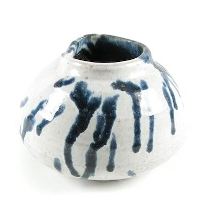 Drip Glaze Art Pottery Vase