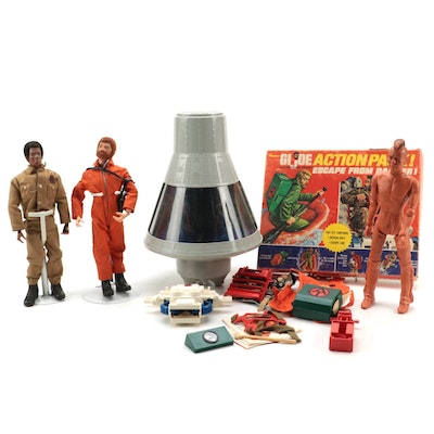 Hasbro G.I. Joe Space Capsule, Action Figures, 1960s, Action Pack, 1971, Other