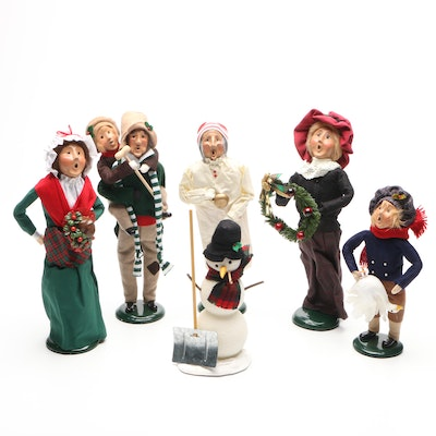 """Byers' Choice """"The Carolers"""" Christmas Figurine Collection"""