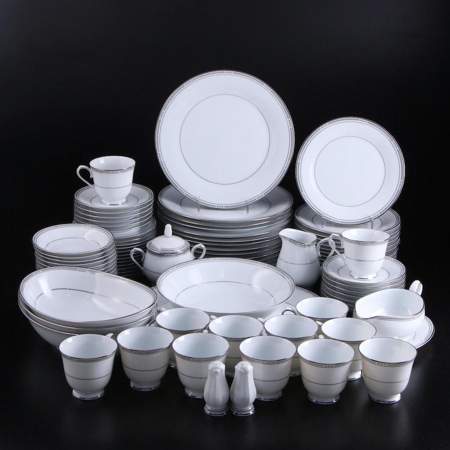 """Noritake """"Van Orsdale"""" Porcelain Dinnerware, 1989–1996"""