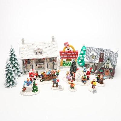 "Department 56 ""McDonald's"" and Heritage Village Figurines"