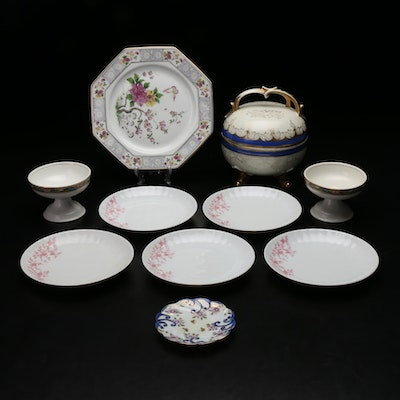 Retsch & Co Porcelain Plates with Other Tableware, Mid to Late 20th Century