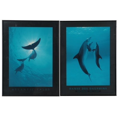 """Offset Lithographs After Bob Talbot """"Danse Des Dauphins"""" and """"Atlantic Tales"""""""