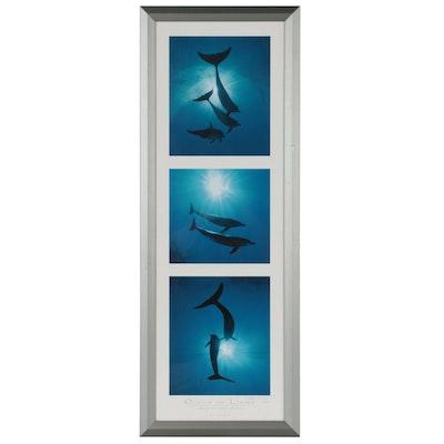 """Bob Talbot Offset Lithograph """"Ocean of Light,"""" 2000"""