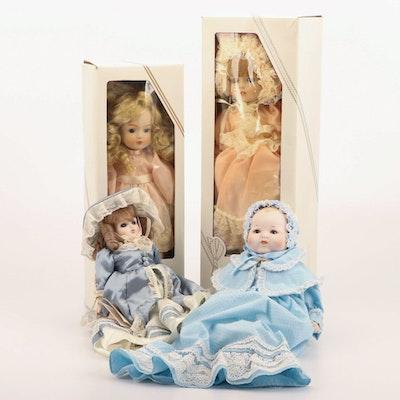 "Vintage Gorham Collection Dolls Including ""Tiffany"" and ""Rebekah"""