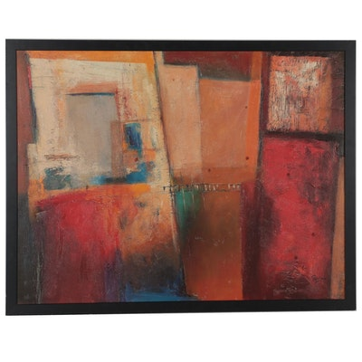 """Abstract Offset Lithograph After Michele Patrizio """"Hallaryd"""""""