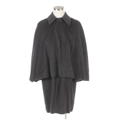 Men's Raveina Great Coat Style Overcoat