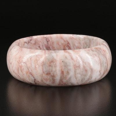Marble Bangle Bracelet