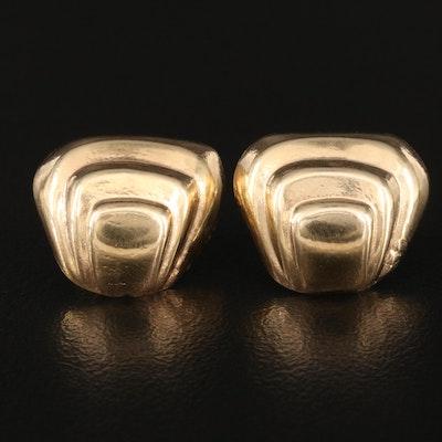 14K Tiered Earrings