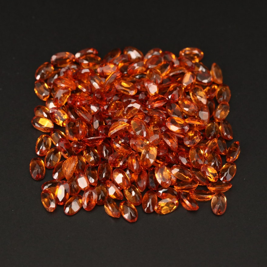 Loose 51.97 CTW Oval Faceted Garnets