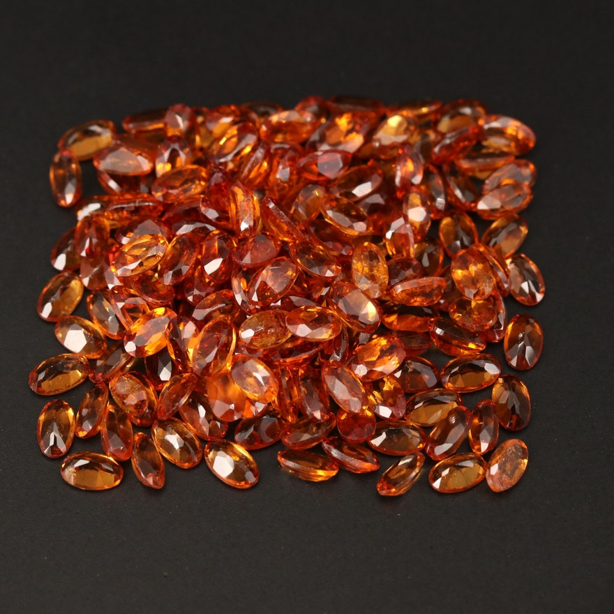 Loose 50.05 CTW Oval Faceted Garnet