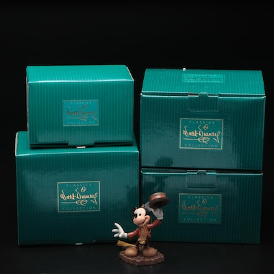 """Walt Disney Classics Collection """"Mickey's Christmas Carol"""" and Other Figurines"""