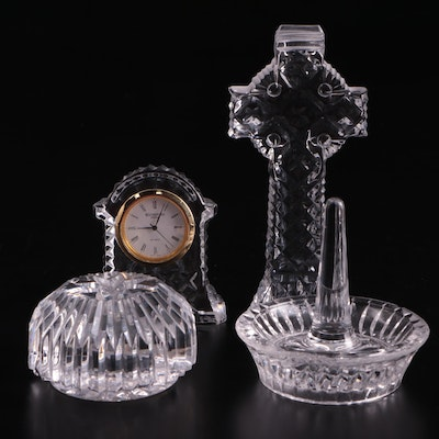 Waterford Crystal Clock and Table Accessory Collection