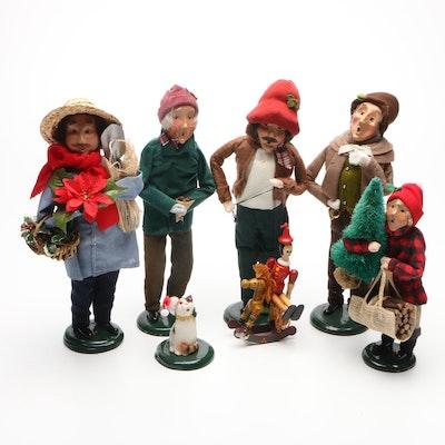 "Byers' Choice ""The Carolers"" Christmas Figurines"