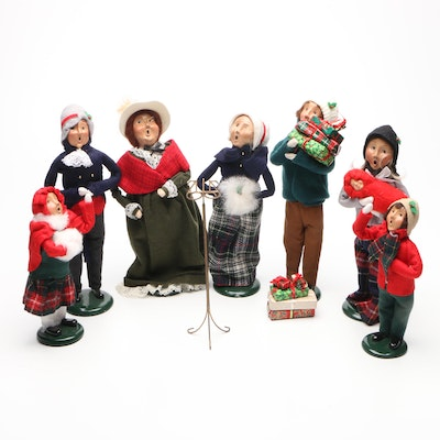 """Byers' Choice """"The Carolers"""" Christmas Figurines and Accessories"""