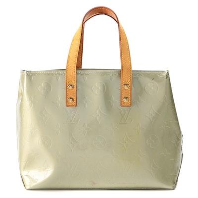 Louis Vuitton Reade PM Bag in Monogram Vernis and Vachetta Leather