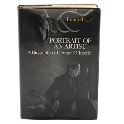 """First Edition """"Portrait of an Artist: A Biography of Georgia O'Keeffe,"""" 1980"""