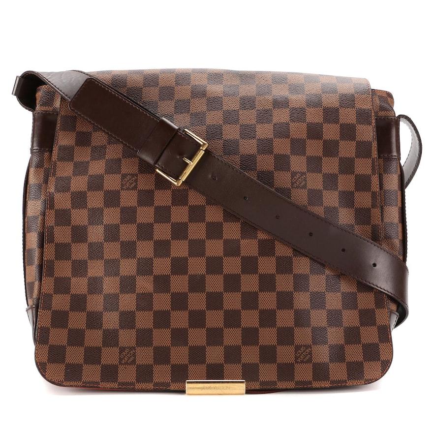 Louis Vuitton Bastille Messenger Bag in Damier Ebene Canvas