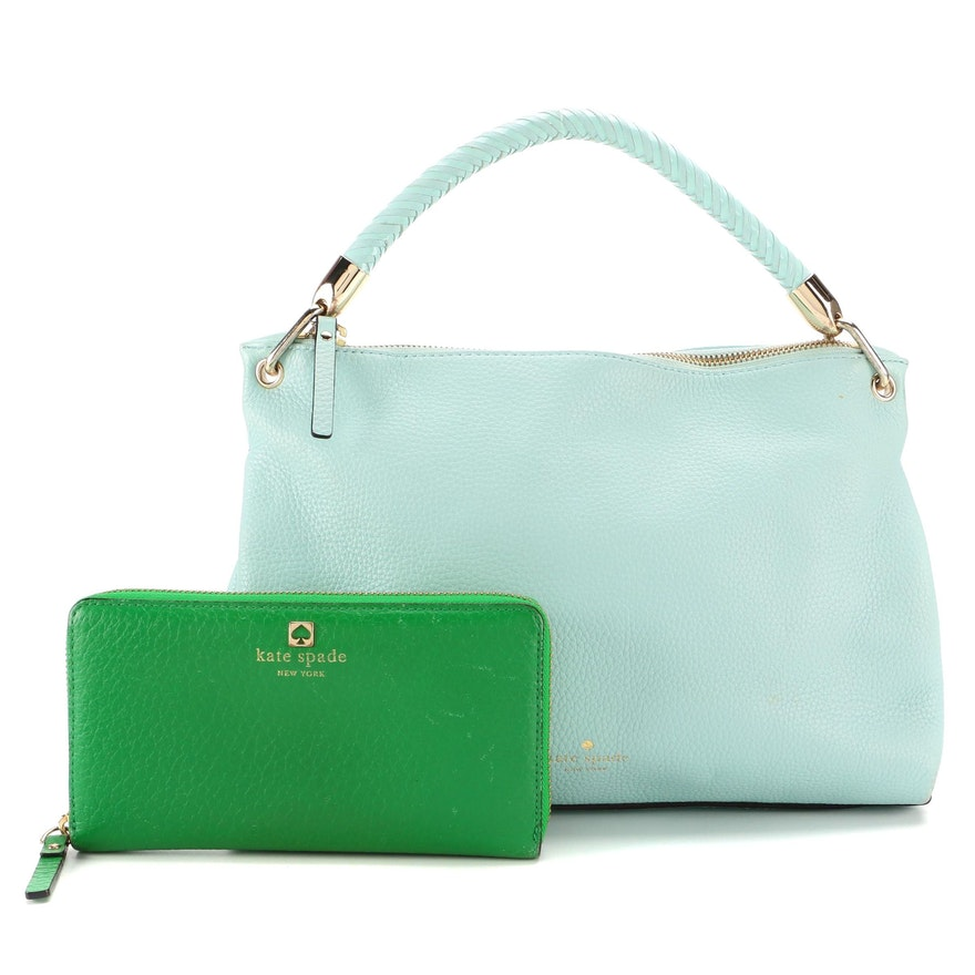 Kate Spade New York Carmina Place Two-Way Hobo Bag and Continental Wallet