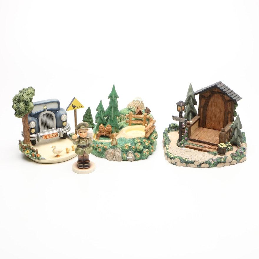 Goebel Hummel Scapes Porcelain Figurines