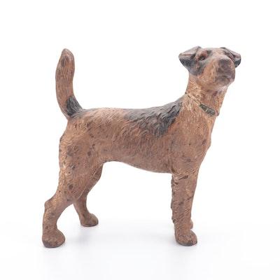 Hubley #279 Cast Iron Terrier Doorstop