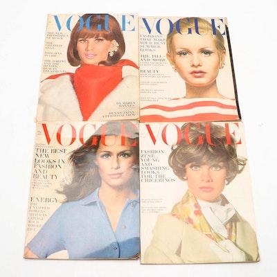 """Vogue"" Magazine Issues, 1960s"