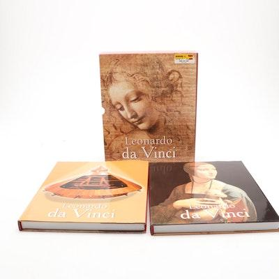 """Leonardo da Vinci: Artist, Thinker, and Man of Science"" Box Set by Eugène Müntz"